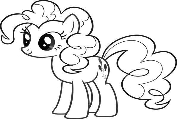 Pinkie Pie Colorear Imagui Pinkie Pie Equestria Coloring Pages
